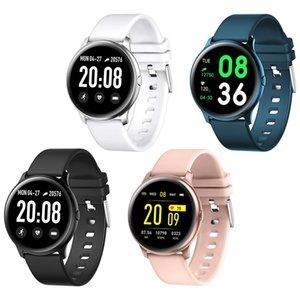 KW19 Smart Watch Waterproof Blood Pressure Heart Rate Monitor Fitness Tracker Sport Intelligent Wristbands with Retail Box