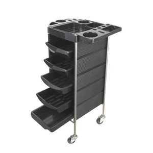 Hot sale ABS Beauty Salon Trolley L-181 Salon Use Rolling Cart storage Stand High quality safe and reliable
