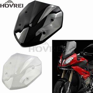 Para S1000XR 2014 2021 2021 Parabrisas de parabrisas Motocicleta Alta Calidad ABS Deflectores de viento Screen Black Black Clear