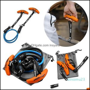 Integrated Equip Equipments Fitness Supplies Sports & Outdoorswholesale-Exerecise Resistance Band Handle Grips Lifting Arm Strength Gym Weig