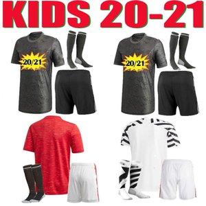 FC Manchester Kids Soccer Jerseys Rashford Martial Chil Football Jersey Shirts United Utd 20 21 Jóvenes Uniformes Man + Kit Kit B. Fernandes