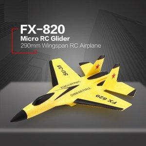 RC Planes Telecomando Aerei Aeroplani Volare Modello Foam Glider EPP Toy Bubble Drop-resistentissimo Craft Outdoor RTF Tail Pusher Flyer L0306