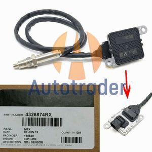 4326874RX Nitrogeno Oxygen NOX Sensor Sensor Outlet Scalare nuovo sensore NOX 5WK96741B 5WK9 6741B per Cummins 15.0L 11.0L I6