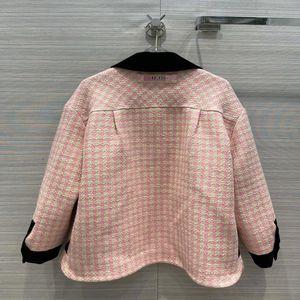 Coats Same Panelled Coats Style Runway Long Lapel Trench Brand Milan 2021 Neck Women Designer Sleeve 0104-12 Efbjf