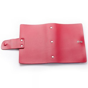 HBP More than 120 card position leather card holder, large capacity card bag, new type of cattle pickup sleeve 18.5x12x3cm