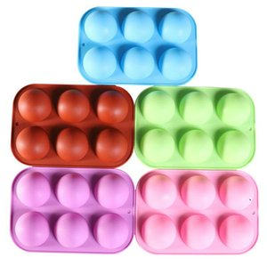 Round Silicone Chocolate Molds for Baking Cake Candy Cylinder Mold for Sandwich Cookies Muffin Cupcake Brownie Cake Pudding Jello BWA3760