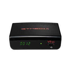 New Arrivals Digital Decoder upgraded DVB-S2 1080P HD receptor with USB Wifi Antenna no app satellite receiver GT media V7 S2X