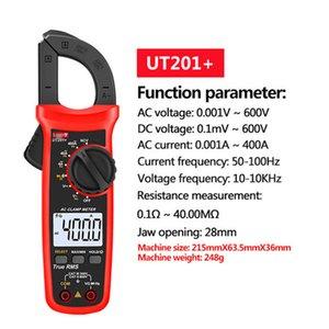 FREESHIPPING UNI-T UT201 + / UT202 + / UT203 + / UT202 + / UT203 + / UT204 + / UT202A + 400-600A Digital Clamp Meter Automatic Range Automatic True RMS High Precision Multimeter