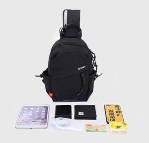 DHL50pcs Messenger Bags Women Men Unisex Nylon Brief Reflection Waterproof Sport Cross Body Bag Black Beige Size 30.5*20*11cm