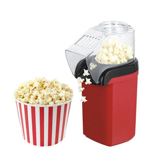 New Home Hot Air Popcorn Popper Maker Microwave Machine Delicious & Healthy Gift Idea for Kids Home-made DIY Popcorn Movie Snack