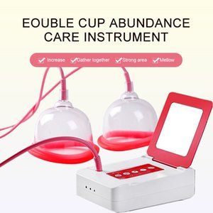 2021 New Electric Bust Enhancer Breast Enhancement Enlargement  Vacuum Pump Cup Breast Massager Device for Home Use