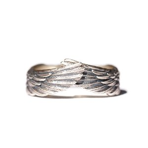 "925 Sterling Silver Loredana Exquisite Fashion Original Design ""Angel"" Wings Ring For Men And Women Creative Gifts Implied A Good Guardian"