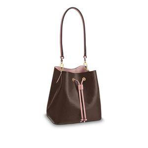 2021 Новая мода дизайнерская кожа женщина одно плечо печатает мессенджер сцепление большой емкости ведро ведро сумка сумка