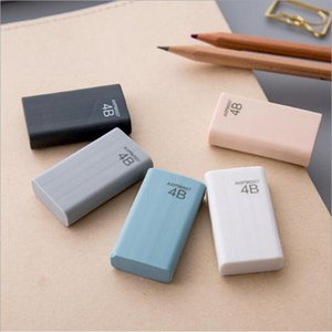 eraser kid stationery office supply high quality Pencil Eraser Student Stationery Multi colors with retail bag