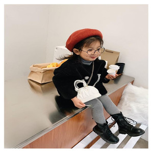 Free DHL Quality INS Clutch Bags Me Designer Gift Kids Little Girls Plain Messenger And Mother Bags Baby Crossbody Purse Toddler Ngudd