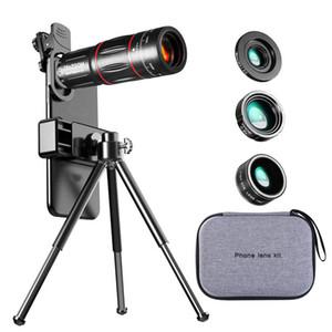 Comencano 28x Telescopio Zoom LEN Monocular Teléfono móvil Lente de la cámara Macro Lens para iPhone Samsung Smartphone Pescado ojo Lente Para Celular