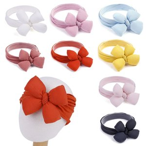 Baby Girls elastic Headbands Fashion Big Bow Lucky Clover Head band Girls Princess Party Hair Accessories