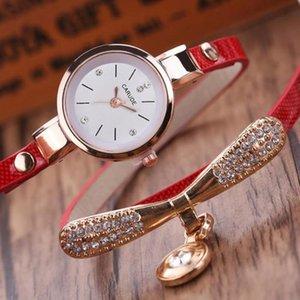 ساعات المعصم بسيط أزياء المرأة سوار الساعات حجر الراين النظير الكوارتز السيدات أنيقة للهدايا relojes
