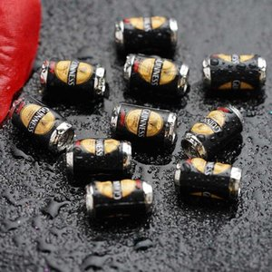 10pcs set Decoration Simulation Black Green Dollhouse Scene Model Beer Can Miniature Accessories 1:12 Scale V8F5