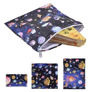 3PCS lot Snack Bag Food Wraps Sandwich Lunch Waterproof Bag Reusable Food Storage Container Kitchen Tools