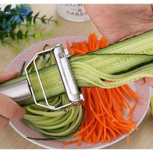 Stainless Steel Multifunctional Zesters Steel Potato Peeler Grater Slicer Cutter Vegetables Carrot Slicer Kitchen Co jllgaE xmh_home