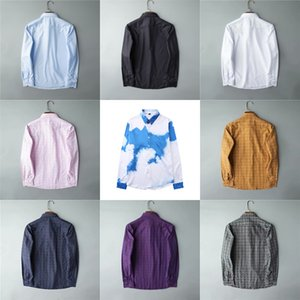 Designer Hommes Robe Chemises Chemises Casual Chemise Marques Hommes Chemises Spring Automne Slim Fit Chemises Chemises de Marque Versez HOMMES