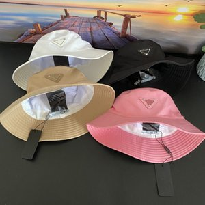 2021 Sombrero de cubeta para mujer Vestido al aire libre Sombreros Ancho Fedora Pesca solar Pesca de algodón Pesca Hombre Hombre Cuenca Chapeau Sun Evite tapas