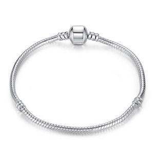 Weaving Basic Snake Chain Bracelet & Bangle For Women Charm Bracelet Fit For DIY Jewelry Making Women Accessories Gift