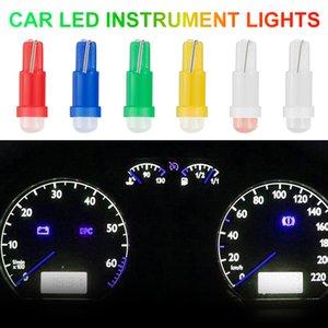 10 قطع t5 الصمام لمبة 1SMD سيارة الصمام الداخلية أداة ضوء مؤشر لمبة مصابيح الاحترار مؤشر مؤشر ضوء مؤشر