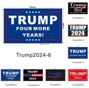 US Tock Trump Election 2024 Trump Keep Bandiera 90 * 150 cm America appesa Great Banner 3x5ft Stampa digitale Donald Trump Bandiere