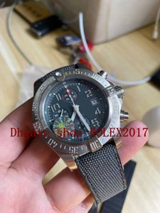 Hommes Super V3 GF Factory Meilleure Qualité ETA 7500 Top Edition Chronographe Titanium Edition Asie 7750 Valjoux Mouvement automatique Montres Sport Sport