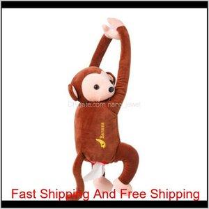 Creative Cartoon Tissue Box Creative Pippi Monkey Paper Napkin Car Tissue Box Animal Tissue Napkin Paper Box Napkin Holder Nxaab E9Fny