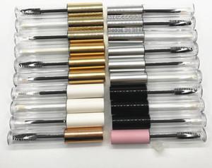 2021 Hot Sale 10ml Empty Twist Pen with Brush Wand Eyelash Cream Container Bottle Travel Portable Tube Eyelash Growth Lip Gloss tube