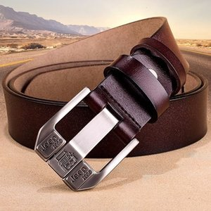 2021 New Male Belt Genuine Leather Brand Luxury Designer Pin Buckle Belts for Men Cummerbunds Jeans Ceinture Homme Bylu