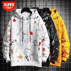 Hoodies women Harajuku oversized Pullovers Sweatshirt clothes Streetwear tops Long Sleeve Korean style Female #Qe9g