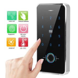 Smart Lock Touch Screen Screen Porte Clavier d'empreinte digitale Lecteur de carte de passe IP68 étanche WIEGAND26 Access Contrôleur Système de sécurité