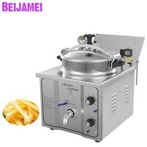 Beijamei Factory Presión eléctrica Fryer 3000W Freyer Fryer Comercial Fichas de alimentos Potato Pollo Horno Fryer Máquina
