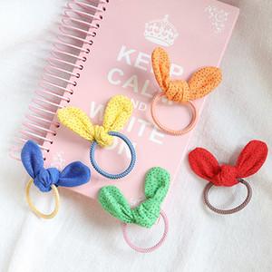2021 New Baby Girls Bunny Ear Hairbands Children Decoration Hair Band Cute Three-dimensional Ear Hair Ring Elastic Band C6839