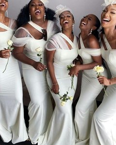 Bridesmaid Dresses for Wedding Party, One Shoulder Long Elegant Satin Formal Dress Gown Women