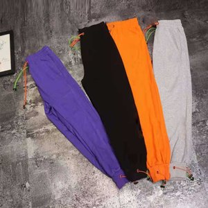 autumn 2021 spring and new men's casual sports fashion drawstring pants b040346