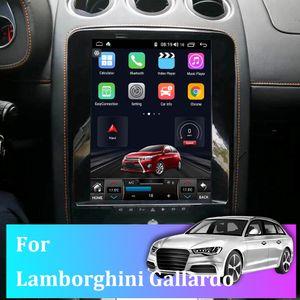 Car Navigator For Lamborghini Gallardo 12 Inch Vertical Touch Screen Android 10 HD DVD Video Player Stereo Audio Smart Voice Radio GPS