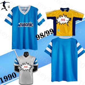 1998 1990 91 OLUMENT MAISON DE MAISON DE MAISON DE SOCCER rétro Eric Cantona Jean-Pierre Papin Abedi Pele 98 99 90 91 Le Classic Football Shirt