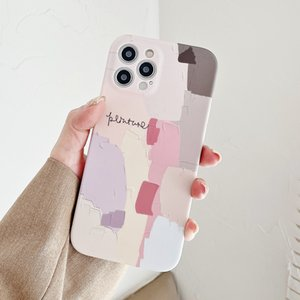 Retro Abstract Graffiti Phone Case For iPhone 12 11 Pro Max XR XS Max 7 8 Plus X 12 Mini Camera Protection Soft Back Cover Coque