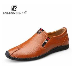 cowhide casual shoes men rubber sandals breathable sandals leather adult flat shoes 2020