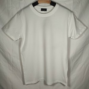 43B109 # Coton Mens t-shirt PLUS Taille Femmes Soft Femmes T-shirts Homme Noir Femmes Femmes Summer Eté Cool T shirts Top manches courtes Big logo