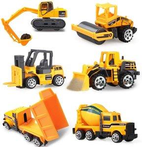 Coolplay Ley Diecast Engineering Toy Vehicles Dump Truck Autocarro Forklift Escavatore Modello Auto Mini regalo per bambini ragazzi