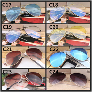 Best Selling Pilot Classic New Metal Resin Resin Protezione degli occhi UV400 Brand Occhiali da sole all'ingrosso 58mm