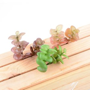 Artificial Succulents Flower Head Money Leaf Shooting Props Artificial Potted Plants Plants Plastic Flowers