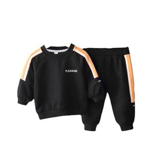 Boys Tracksuit Spring Autumn Kids Outfits Baby Sport Suit Long Sleeve Tops Pullover+Pants 2Pcs Toddler Clothes 1-5Y SM047