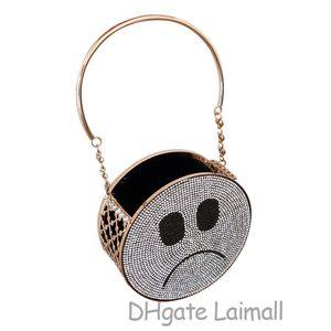 On Sale Handbags Purses Crossbody Shoulder Smile Face Round Bags Women Sling Bag